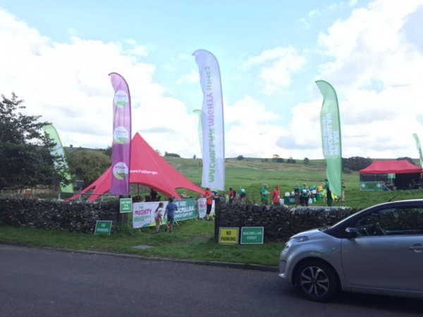 MacMillan Mighty Hike in Chelmorton for Saturday September 2nd