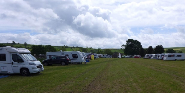 Sheffield DA camp meet at Chelmorton