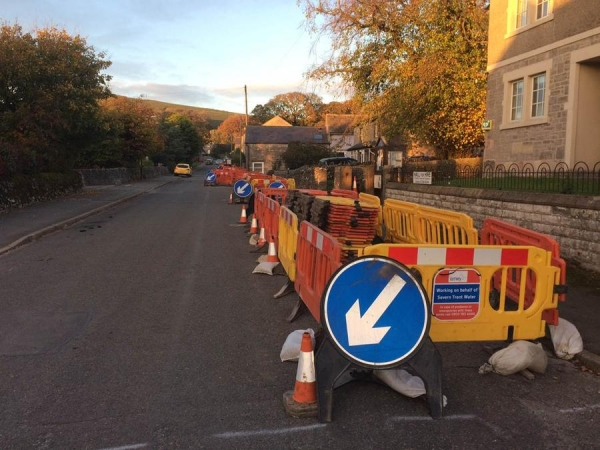Chelmorton Road Works – digging for water at eleven hundred feet above sea level