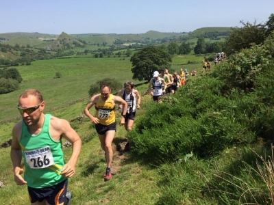 2019 Hollinsclough fell race for summer festival