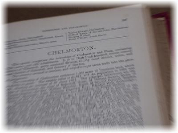Chelmorton recorded in 1868