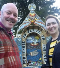 Peril of the seas - Southern Ocean moments at Derbyshire Well Dressing ceremony