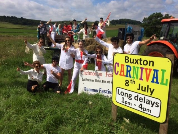 Diary: Buxton Carnival Chelmorton Village Entry (July 14th 2018)